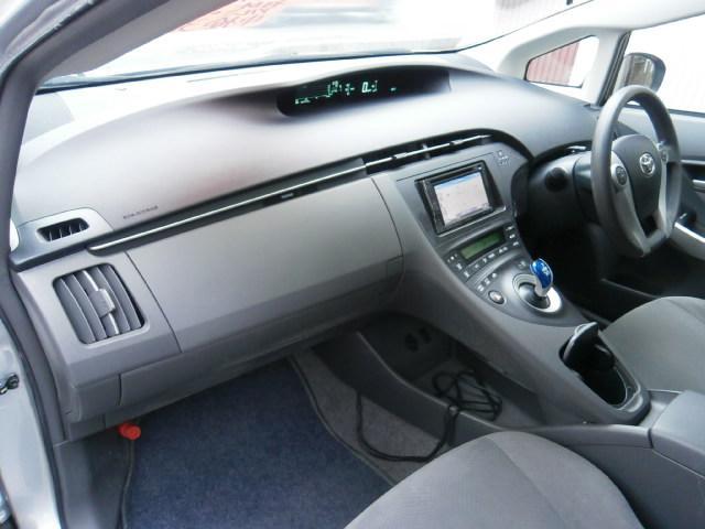 トヨタ プリウス L 社外メモリーナビ ワンセグ CD ETC 社外アルミ