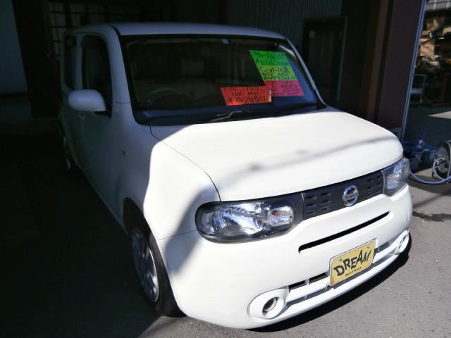 「日産」「キューブ」「ミニバン・ワンボックス」「岐阜県」の中古車4