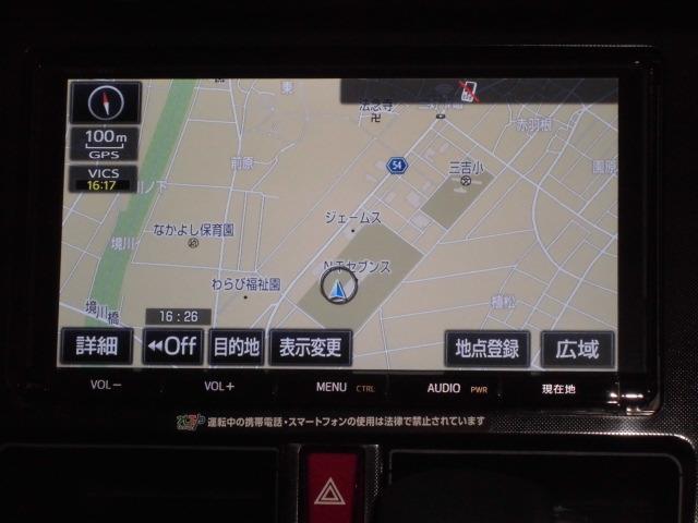 トヨタ タンク G S SDナビ Bモニター フルセグ ETC 両側PS