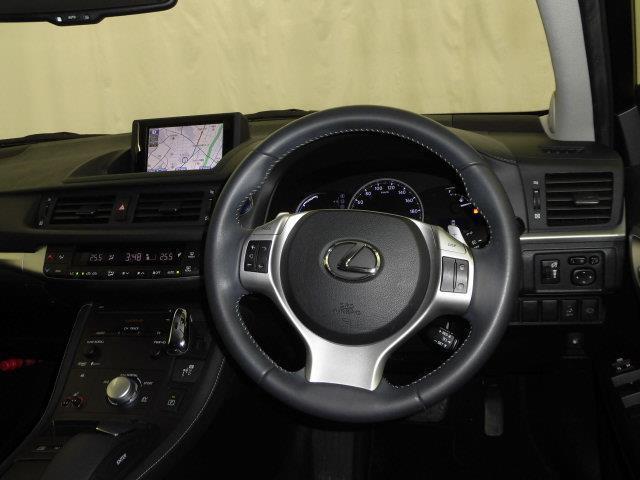 CT200h バージョンC フルセグ HDDナビ DVD再生 ミュージックプレイヤー接続可 バックカメラ ETC LEDヘッドランプ アイドリングストップ(10枚目)