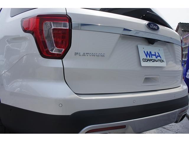 フォード フォード エクスプローラー プラチナム エコブースト カープレイ 4WD