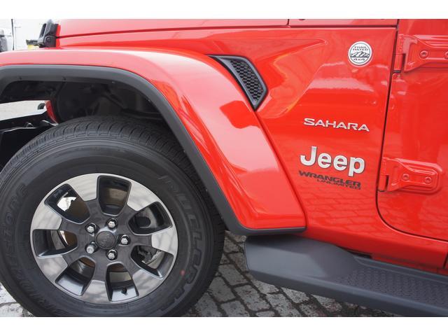 クライスラー・ジープ クライスラージープ ラングラーアンリミテッド サハラ NEWモデル レザーシート カープレイ 左ハンドル