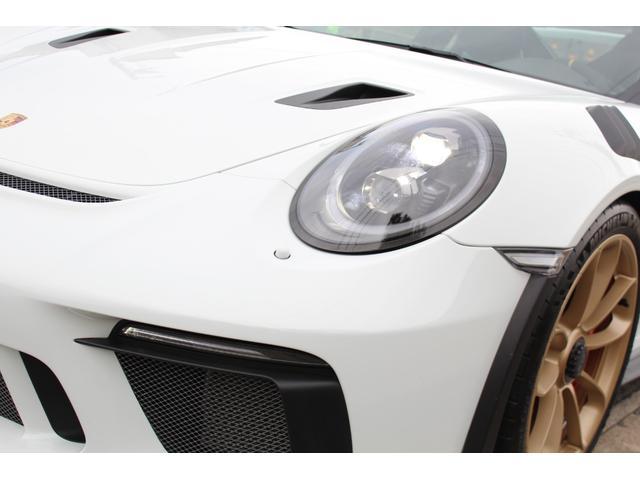 911GT3RS ディーラー車・スポーツクロノPKG・Fリフター・PDLSヘッド・カーボンインテリアPKG・イエローシートベルト&ステアリングトップマーキング・GT3RSロゴ入りスカッフイルミ・スポーツエキゾースト(8枚目)