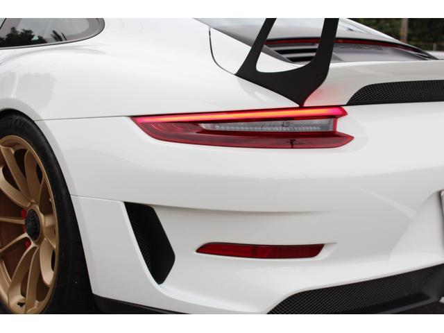911GT3RS ディーラー車・スポーツクロノPKG・Fリフター・PDLSヘッド・カーボンインテリアPKG・イエローシートベルト&ステアリングトップマーキング・GT3RSロゴ入りスカッフイルミ・スポーツエキゾースト(10枚目)
