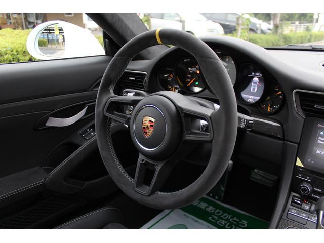 911GT3RS ディーラー車・スポーツクロノPKG・Fリフター・PDLSヘッド・カーボンインテリアPKG・イエローシートベルト&ステアリングトップマーキング・GT3RSロゴ入りスカッフイルミ・スポーツエキゾースト(21枚目)