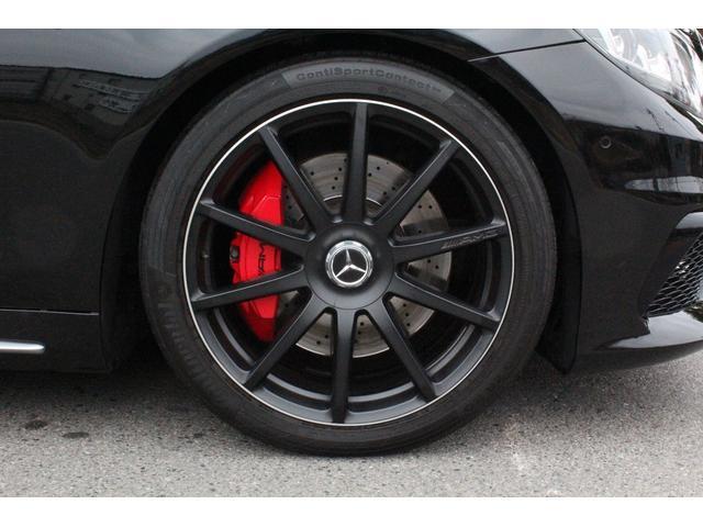 S63専用・鍛造AMG10スポーク・マットブラックアルミホイール!F8.5j・R9.5j