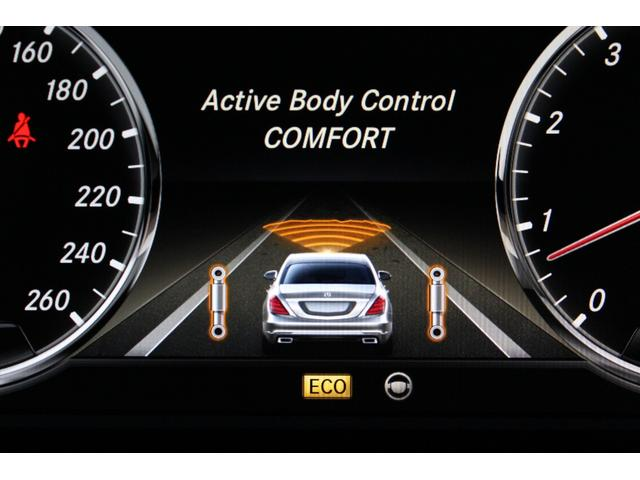 マジックボディコントロールによって世界トップレベルのサスペンション性能をさらに昇華させ、至上の乗り心地の良さと快適性能を可能にした技術と言えるでしょう!