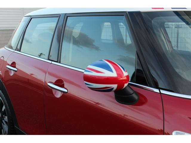 クーパー ディーラー車・1オーナー・MINIエキサイトメントPKG・パーキングアシスト・OP17AW・ユニオンジャックデカール&サイドミラー・キセノンヘッドライト・純正HDDナビETC・(9枚目)