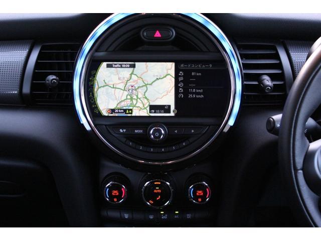 クーパー ディーラー車・1オーナー・MINIエキサイトメントPKG・パーキングアシスト・OP17AW・ユニオンジャックデカール&サイドミラー・キセノンヘッドライト・純正HDDナビETC・(22枚目)