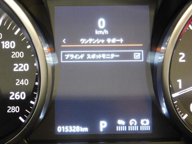安全機能としてはブラインドスポットモニター】をオプション装備しています。
