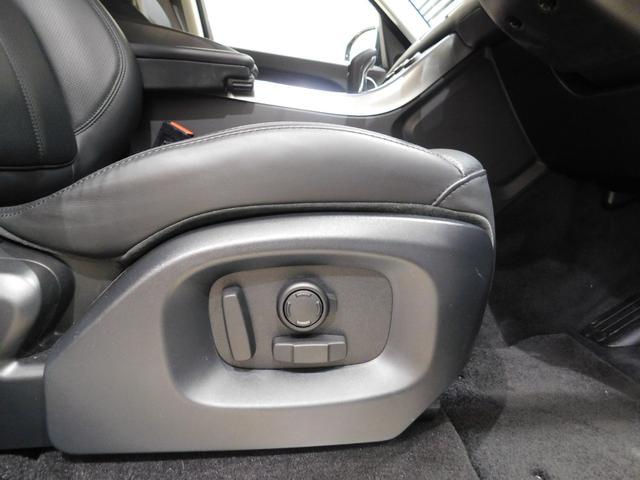 12ウェイの電動調整シート。ランバーサポートの調整がついているので、長時間のドライブによる腰の負担を軽減できます。
