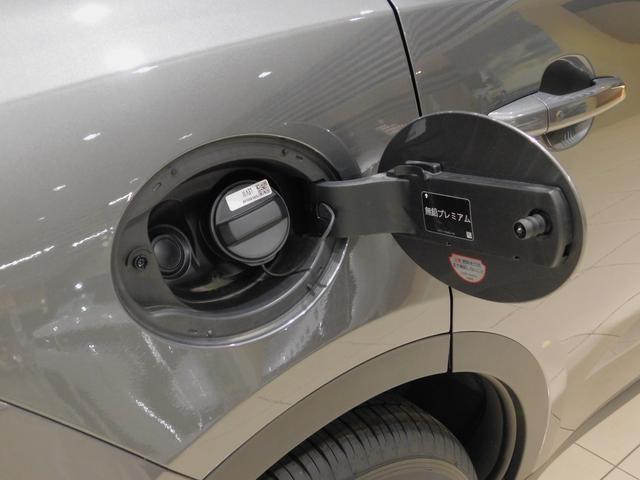 給油口はドアロック連動型です。 ハイオクの使用を指定されていますのでご注意下さい。