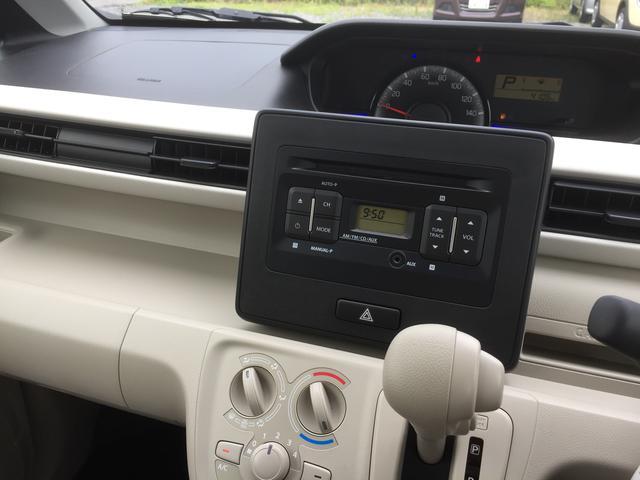FA 2WD CVT キーレス CDステレオ 新車保証継承(6枚目)
