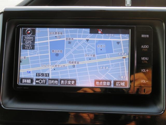 トヨタ ヴォクシー ZS 純正SDナビ バックカメラ ETC 両側パワースライド