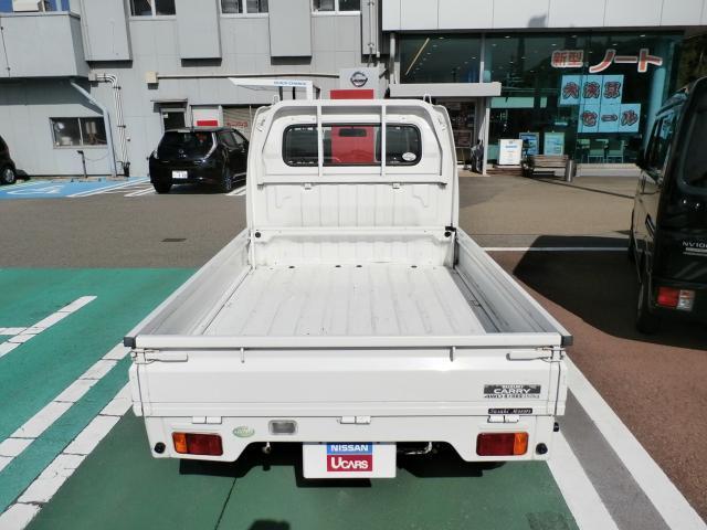 スズキ キャリイトラック KU 4WD エアコン・パワステ(地区限定車)