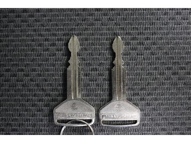 こちらは鍵でございます。