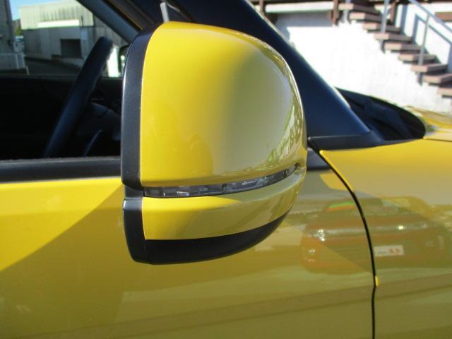 サイドミラーウィンカー! 対向車からの視認性UP!
