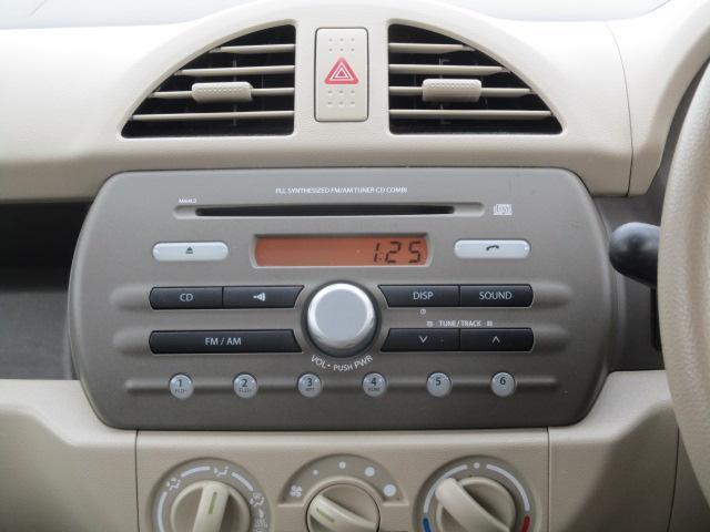 使いやすい純正CDデッキ