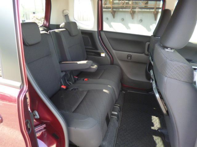 ハイブリッドMV クルーズコントロール パドルシフト シートヒーター 片側電動スライドドア 純正アルミ 2トーンルーフ 当店試乗車(5枚目)