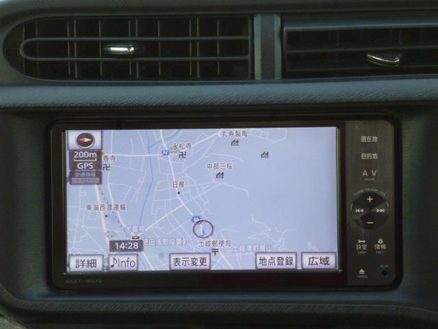 S 純正ナビ バックカメラ オートライト シートヒーター スマートキー スペアタイヤ積載(7枚目)
