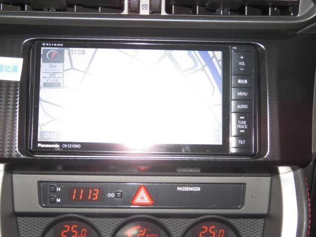 スバル BRZ S フルセグTV メモリーナビ