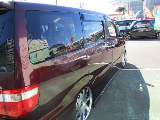 AX Lエディション 1オーナー 4WD DADエアロマフラー エアダインエアサス公認 ヴィエナ19AW 両側電動ドア コーナーセンサー HID シートカバー ナビTVBモニ フリップモニ コンビハン 土禁禁煙車 保証付(13枚目)