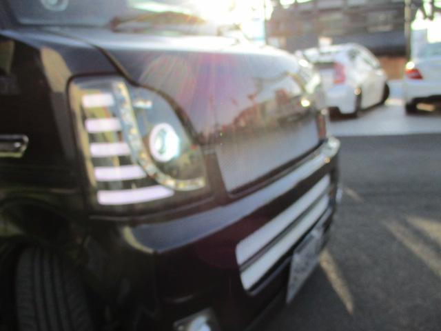 ジョイン HR 1オナ 外エアロ 車高調 SSR15AW 外マフラー リアスモーク LEDテール LEDライトフォグ 黒シートカバ 外ハンドル HDDナビTVETC 黒ウッドパネル 追加メータ キーレス 保証付(44枚目)