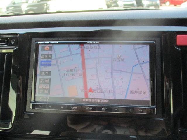 G・Aパッケージ 安心パック エアロ リアスポ 外16アルミ 4灯HID ウインカーミラー アイドリングストップ 黒ハーフレザーシート SDナビTVBモニETC クルコン スマートキーX2Pスタート CTBA 保証付(4枚目)