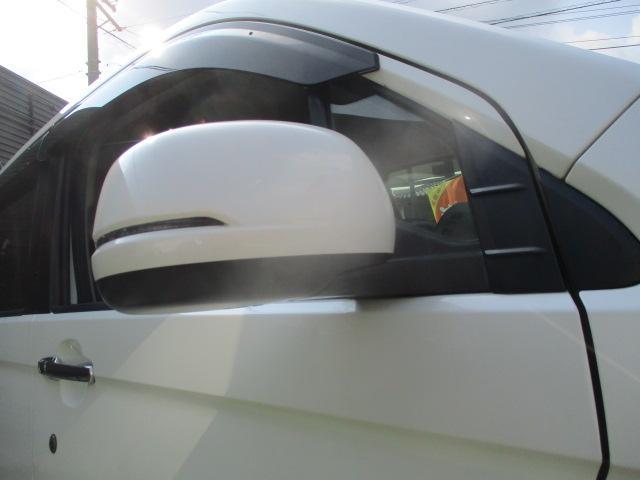 G・Aパッケージ 安心パック エアロ リアスポ 外16アルミ 4灯HID ウインカーミラー アイドリングストップ 黒ハーフレザーシート SDナビTVBモニETC クルコン スマートキーX2Pスタート CTBA 保証付(11枚目)
