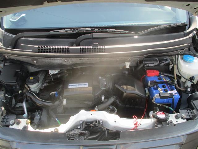 G・Aパッケージ 安心パック エアロ リアスポ 外16アルミ 4灯HID ウインカーミラー アイドリングストップ 黒ハーフレザーシート SDナビTVBモニETC クルコン スマートキーX2Pスタート CTBA 保証付(39枚目)