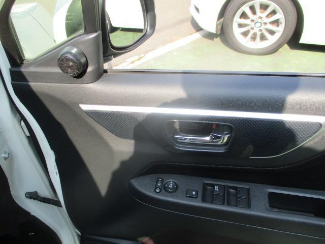 G・Aパッケージ 安心パック エアロ リアスポ 外16アルミ 4灯HID ウインカーミラー アイドリングストップ 黒ハーフレザーシート SDナビTVBモニETC クルコン スマートキーX2Pスタート CTBA 保証付(46枚目)