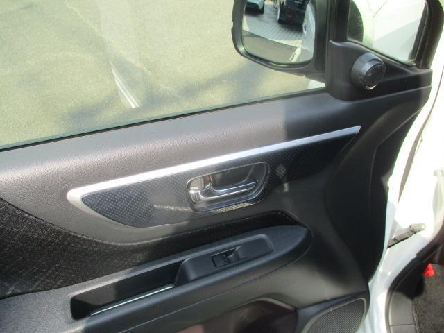 G・Aパッケージ 安心パック エアロ リアスポ 外16アルミ 4灯HID ウインカーミラー アイドリングストップ 黒ハーフレザーシート SDナビTVBモニETC クルコン スマートキーX2Pスタート CTBA 保証付(50枚目)