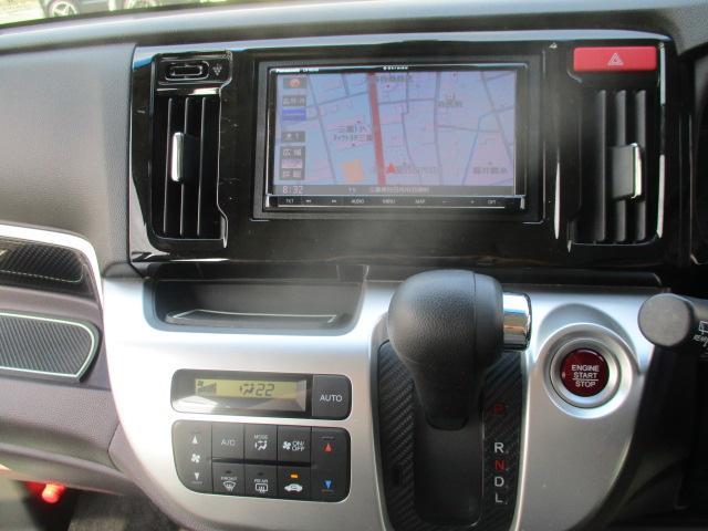G・Aパッケージ 安心パック エアロ リアスポ 外16アルミ 4灯HID ウインカーミラー アイドリングストップ 黒ハーフレザーシート SDナビTVBモニETC クルコン スマートキーX2Pスタート CTBA 保証付(65枚目)