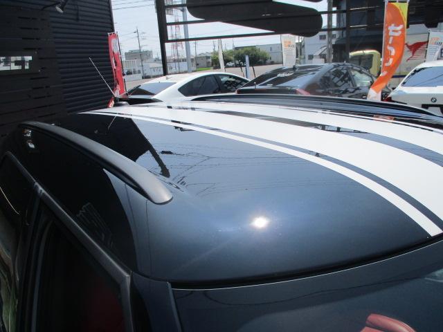 クーパーS クロスオーバー ターボ 白黒ツートン 純正18アルミ リアスポ HID フォグ 赤シートカバー HDDナビTVBモニETC パドルシフト キーレスX2 プッシュスタート ドライブレコーダー レーダー 保証付(21枚目)