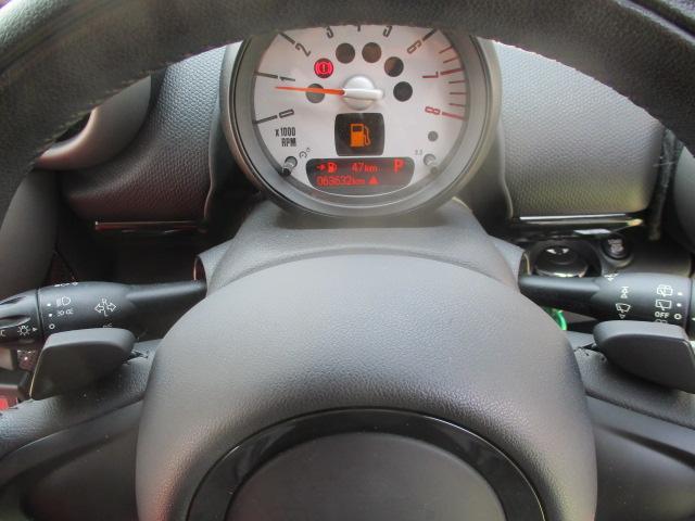 クーパーS クロスオーバー ターボ 白黒ツートン 純正18アルミ リアスポ HID フォグ 赤シートカバー HDDナビTVBモニETC パドルシフト キーレスX2 プッシュスタート ドライブレコーダー レーダー 保証付(66枚目)