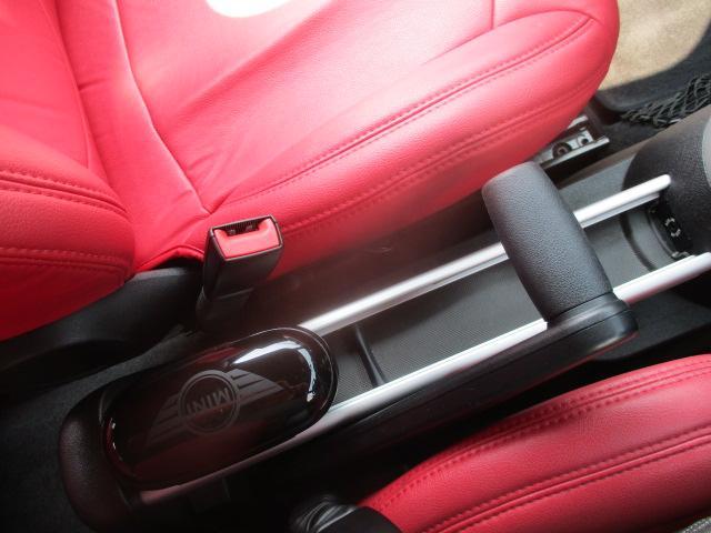 クーパーS クロスオーバー ターボ 白黒ツートン 純正18アルミ リアスポ HID フォグ 赤シートカバー HDDナビTVBモニETC パドルシフト キーレスX2 プッシュスタート ドライブレコーダー レーダー 保証付(73枚目)