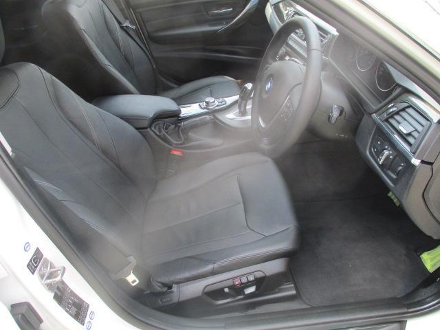 320iラグジュアリー D車 ターボ 1オーナー 走行45930キロ 17アルミ リアスモーク LEDライト フォグ 黒革シート パワーシート&シートヒーター クルコン HDDナビBモニETC アイドリングストップ 保証付(43枚目)