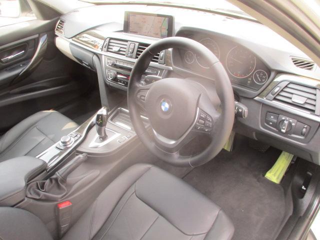 320iラグジュアリー D車 ターボ 1オーナー 走行45930キロ 17アルミ リアスモーク LEDライト フォグ 黒革シート パワーシート&シートヒーター クルコン HDDナビBモニETC アイドリングストップ 保証付(45枚目)