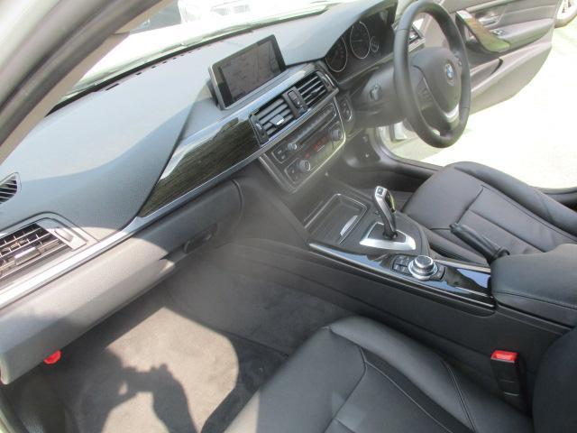 320iラグジュアリー D車 ターボ 1オーナー 走行45930キロ 17アルミ リアスモーク LEDライト フォグ 黒革シート パワーシート&シートヒーター クルコン HDDナビBモニETC アイドリングストップ 保証付(50枚目)