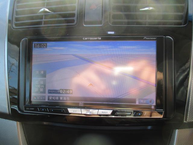 カスタム X SA 1オーナー エアロ リアスポ TEIN車高調 ロクサーニ17アルミ 4灯HID ウインカーミラー HDDナビフルセグBモニETC スマートキープッシュスタート アイドリングストップリアスモーク 保証付(4枚目)