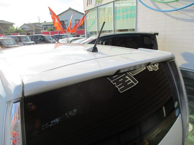 カスタム X SA 1オーナー エアロ リアスポ TEIN車高調 ロクサーニ17アルミ 4灯HID ウインカーミラー HDDナビフルセグBモニETC スマートキープッシュスタート アイドリングストップリアスモーク 保証付(20枚目)