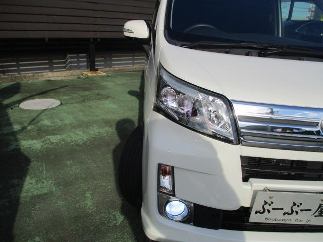 カスタム X SA 1オーナー エアロ リアスポ TEIN車高調 ロクサーニ17アルミ 4灯HID ウインカーミラー HDDナビフルセグBモニETC スマートキープッシュスタート アイドリングストップリアスモーク 保証付(36枚目)