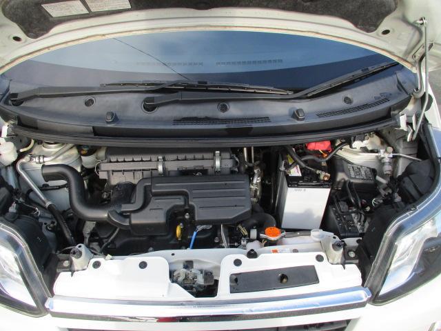 カスタム X SA 1オーナー エアロ リアスポ TEIN車高調 ロクサーニ17アルミ 4灯HID ウインカーミラー HDDナビフルセグBモニETC スマートキープッシュスタート アイドリングストップリアスモーク 保証付(43枚目)