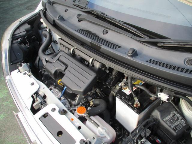 カスタム X SA 1オーナー エアロ リアスポ TEIN車高調 ロクサーニ17アルミ 4灯HID ウインカーミラー HDDナビフルセグBモニETC スマートキープッシュスタート アイドリングストップリアスモーク 保証付(46枚目)