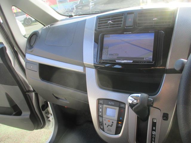 カスタム X SA 1オーナー エアロ リアスポ TEIN車高調 ロクサーニ17アルミ 4灯HID ウインカーミラー HDDナビフルセグBモニETC スマートキープッシュスタート アイドリングストップリアスモーク 保証付(75枚目)