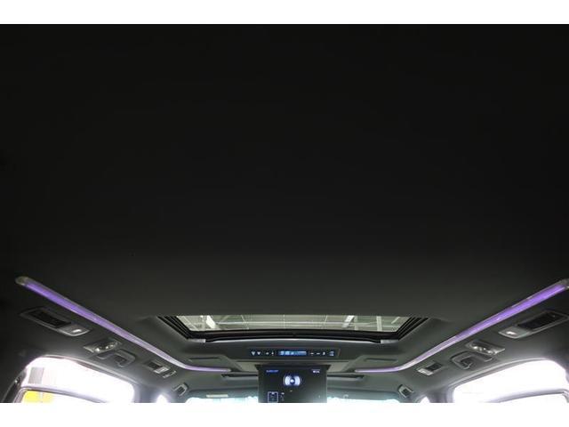 3.5エグゼクティブラウンジZ サンルーフ 後席モニタ メモリーナビ 本革シート サポカー ナビTV ETC バックカメラ 両側電動スライドドア(10枚目)