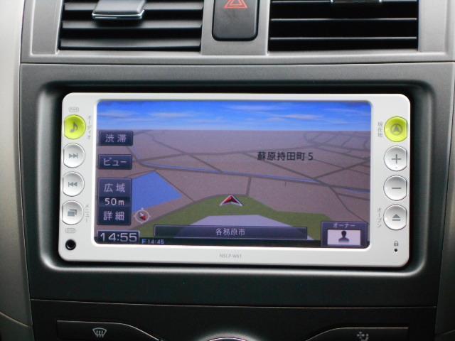 トヨタ カローラフィールダー S 1オーナー 純正メモリーナビ
