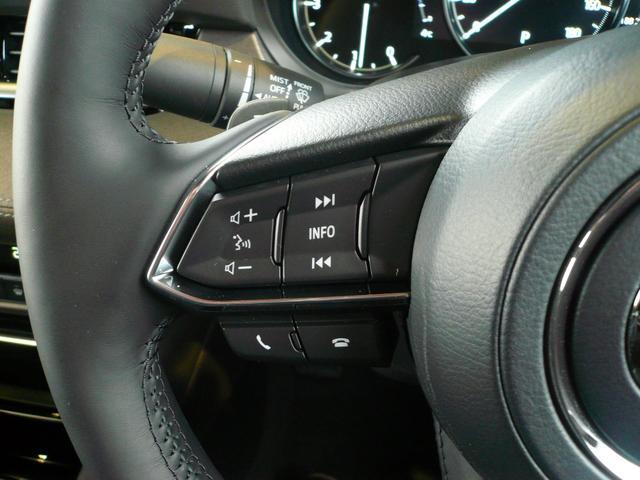 ステアリング左側には、オーディオ関係とマルチスピードメーターの表示を変更できる仕様。メーター中央は、7インチマルチスピードメーターとなっており、ドライバーにとって見やすい、必要な情報表示が可能です。