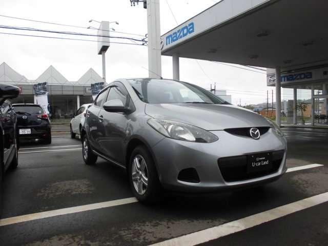 「マツダ」「デミオ」「コンパクトカー」「秋田県」の中古車3
