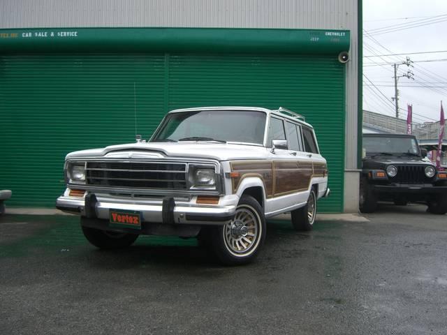 AMC・ジープ AMC・ジープ グランドワゴニア 4WD シート張替済 1ナンバー登録OK